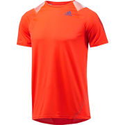 adidas Men's Adizero Short Sleeve T-Shirt Infrared/Blast Purple