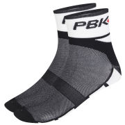 Pbk Socks Chess Black Cuff