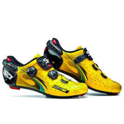 Sidi Wire Carbon Vernice Chris Froome Ltd Edition Cycling Shoes - Yellow