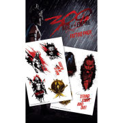 300 Rise of an Empire Spartans - Tattoo Pack - 10 x 17cm