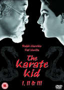 The Karate Kid - 1, 2 And 3