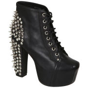 Jeffrey Campbell Women's Lita Spike Shoes - Black