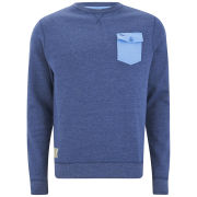 Gola Men's Crew Neck Sweatshirt - Blue Marl