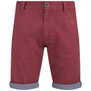 Brave Soul Men's Hansen Shorts - Wine