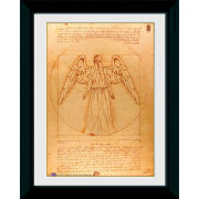 Doctor Who Weeping Angel - 30 x 40cm Collector Prints