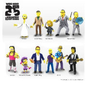 Simpsons 25th Anniversary Series 3 - Leonard Nimoy Action Figure