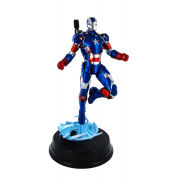 Dragon Models 1/9 Iron Man 3 - Iron Patriot Action Hero Snap Together Vignette