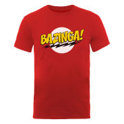 The Big Bang Theory Men's T-Shirt Bazinga - Red