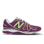 New Balance Women's W890PL3 Speed Running Shoes - Purple/Yellow