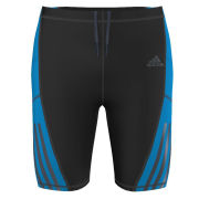 Adidas Men's Super Nova Short Tight - Black/Solar Blue