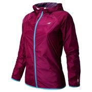 New Balance Women's Running Shadow Jacket - Poisonberry/Mulberry