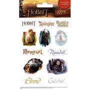 The Hobbit Characters (Shimmer) - Shimmer Sticker Pack