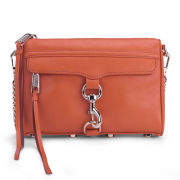 Rebecca Minkoff Mini Mac Small Leather Cross Body Bag - Orangina