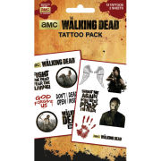 The Walking Dead Characters - Tattoo Pack - 10 x 17cm