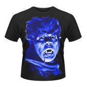 Heads of Horror Men's T-Shirt - The Wolfman