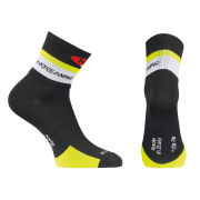 Northwave Men's Logo Socks - Black/Yellow