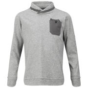 Bench Boys' Anagram Long Sleeve Top - Grey Marl