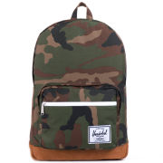 Herschel Pop Quiz Suede Backpack - Camo