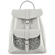 Grafea Wild at Heart Exclusive to MyBag Leather Backpack - White