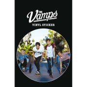 The Vamps Band Vinyl Sticker (10 x 15cm)