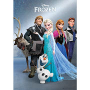 Disney Frozen Group - Metallic Poster - 47 x 67cm
