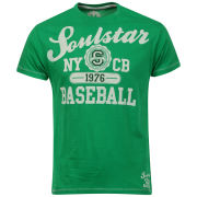 Soul Star Men's Beeball T-Shirt - Green