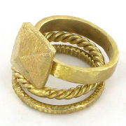 Made by Daisy Knights Ngae Stack Ring - Gold