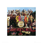 The Beatles Sgt Pepper - 40 x 40cm Print