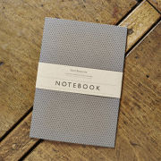 Katie Leamon Slate Polka Dot Notebook
