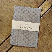 Katie Leamon Slate Polka Dot Notebook