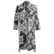 Influence Women's Long Kimono - Black