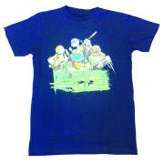 Teenage Mutant Ninja Turtles Kids' T-Shirt - Mutants Rule! - Blue