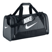 Nike Brasilia 6 Medium Duffel - Grey