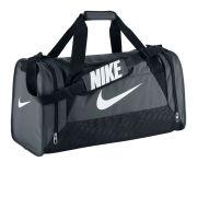Nike Brasilia 6 Medium Duffel - Grey
