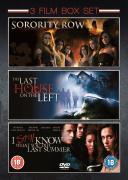 3 Film Box Set: Sorority Row/Last House On The Left/I Know What You Did Last Summer