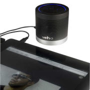 Veho Portable 360 Bluetooth Speaker for iPhone/Phones/Laptops/Netbooks - Black (VSS-009-360BT)