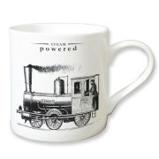 Victoriana Porcelain Mug - Steam Powered