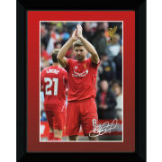 Liverpool Gerrard 14/15 - Framed Photographic - 8x6