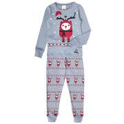 Boys' Rudy Christmas Pyjamas - Grey