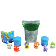 The Trash Pack Liquid Oooze Pack -  Series 3 - 6 Trashies in Bins
