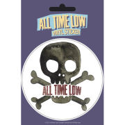 All Time Low Skull - Vinyl Sticker - 10 x 15cm