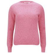 YMC Women's Ridge Crew Knit Jumper - Pink