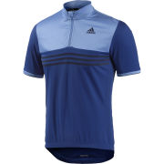 adidas Response Plures Short Sleeve Jersey - Blue