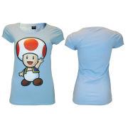 Toad - T-Shirt Girls' (Light Blue)