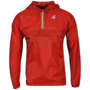 K - Way  Men's Leon Half Zip Jacket - Red