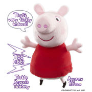 Peppa Pig - 10 Inch Magic Touch Plush Peppa