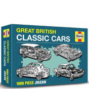 Haynes: Great British Cars Jigsaw