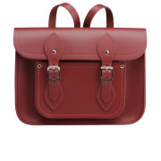 The Cambridge Satchel Company 11 Inch Leather Satchel Backpack - Red