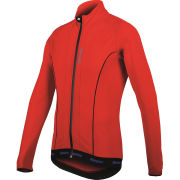 Santini H21 Acquazero Water Resistant Long Sleeve Jersey - Red