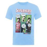 The Big Bang Theory Men's T-Shirt Superhero - Sapphire